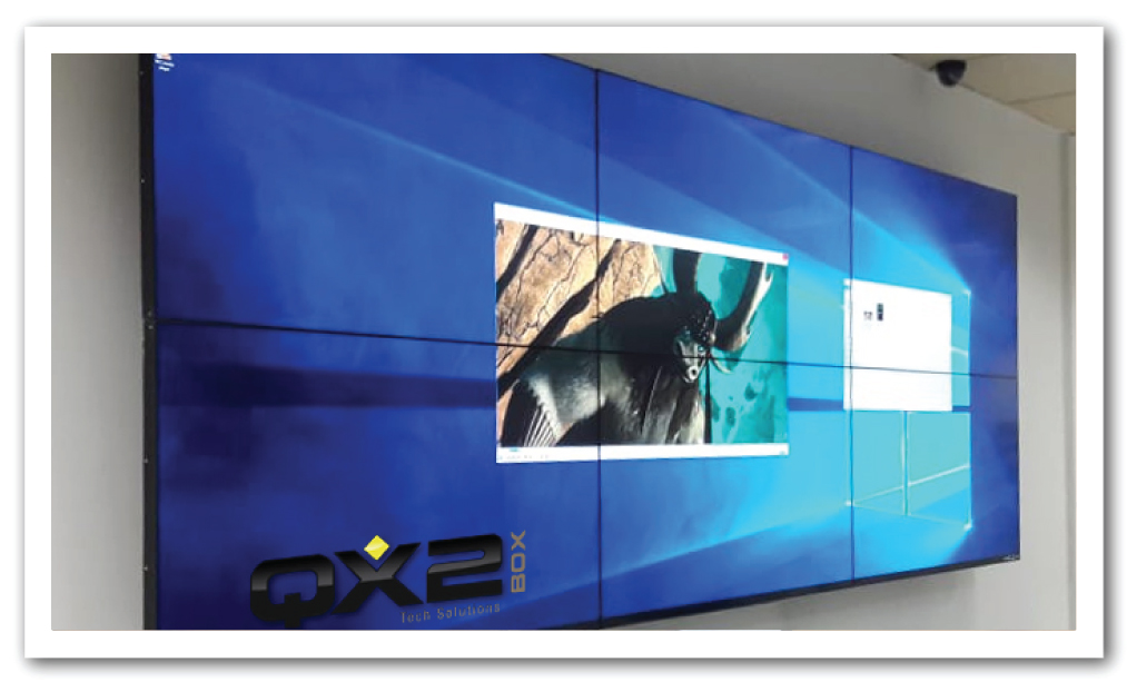 Videowall Carrefour CD