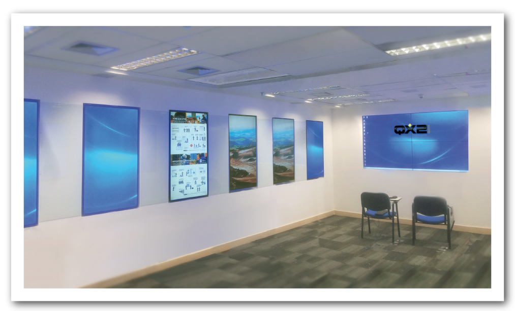 Videowall Anglo American