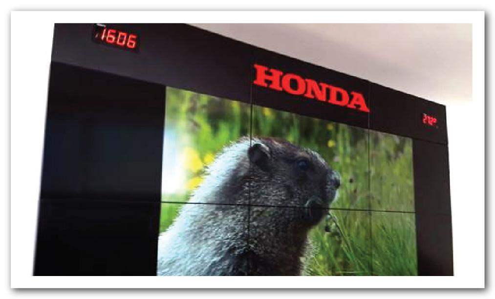 Videowall Honda