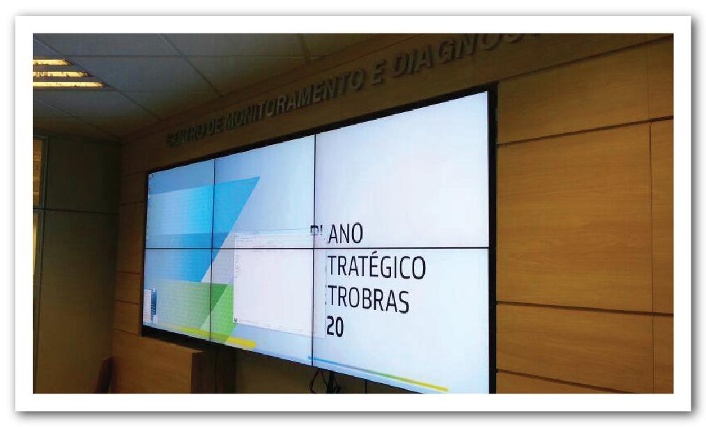 Videowall Petrobras