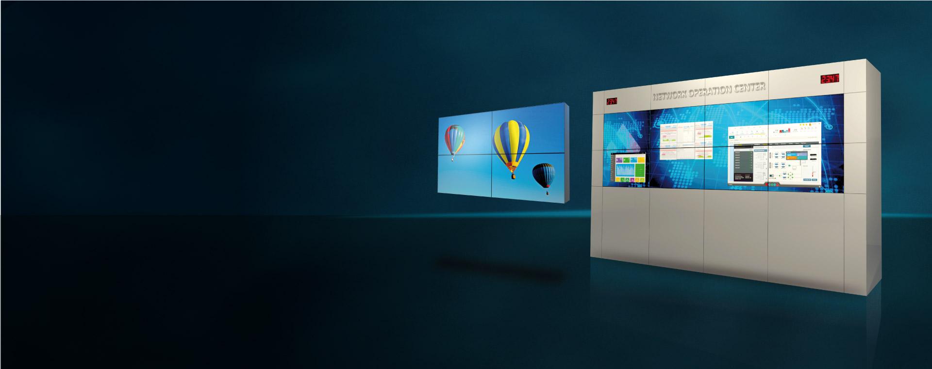 Videowall para Centros de Controle