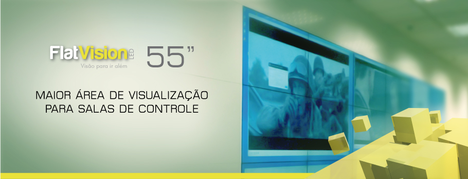 Video Wall Falt Vision 55
